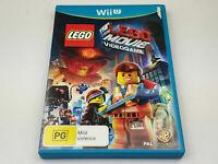 Mint Disc Nintendo Wii U The Lego Movie Videogame Inc Manual