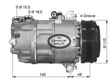 Kompressor Klimaanlage - NRF 32493