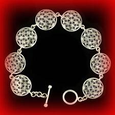 Blume des Lebens Armband Armkette Silber Gothic Schmuck - NEU