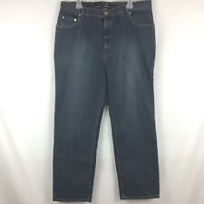 Fusion by Oxford Men's Denim Blue Jeans Straight Leg 40 X 30 NWT