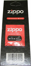 1 ORIGINAL GENUINE ZIPPO WICK - FITS ALL ZIPPO LIGHTERS - NEW