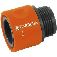 Gardena Threaded Hose Connector, Adaptor For Tap Connections - Robust & Durable
