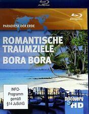 Paradiese der Erde - Romantische Traumziele & Bora Bora  ( Reise / Tours BLU-RAY