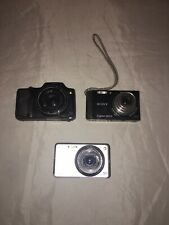 Lot Of 3 Sony Cameras, Repair Or For Parts