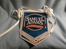 SAMUEL ADAMS BOSTON LAGER BEER ALPINE SPRING 30 FT STRINGED PENNANTS