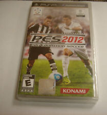 Pro Evolution Soccer 2012  (PlayStation Portable, 2011) new psp