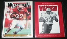 1998 1999 Ron Dayne Programs Heisman Trophy Drew Brees Rose Bowl Wisconsin