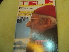 """""""TELE MAGAZINE N°2175 - 1997"""" Commandant COUSTEAU, Dave, Chuck NORRIS"""