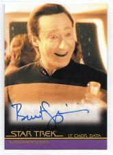 Star Trek Quotable Movies Autograph Card Brent Spiner/Lt Cmdr Data A100