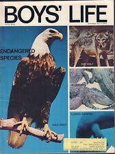 Boy's Life November 1970 Bald Eagle, Red Wolf w/ML 011617DBE2