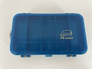 Plano Small Two-Sided PocketPak Tackle Box Organizer - Gray and Blue #3213-09