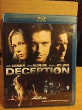 Deception (BLURAY only).  Hugh Jackman Ewan McGregor Michelle WIlliams.