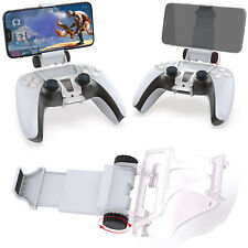 For PS5 Console Game Controllers Portable Phone Clamp Adjustable Phone Holder