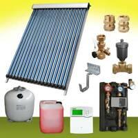 Solarthermie 7 bis 10m² Solaranlage Vakuumröhrenkollektor Kollektor Wasser