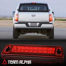 Fits 2006-2014 Honda Ridgeline [Chrome/Red] LED Third 3rd Brake Light Tail Lamp