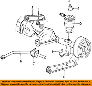 5U2Z18V125C Ford Kit shk abs bshg r 5U2Z18V125C