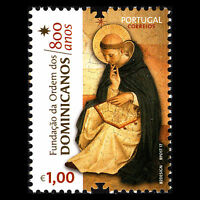 Portugal 2017 - 800th Anniversary of the Dominicans Order Religion Art - MNH