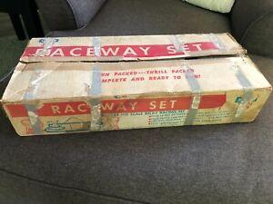 Vintage Allstate 1960s Lionel Pikes Peak HO Raceway Set 9544 Slot Car 1/87 Scale