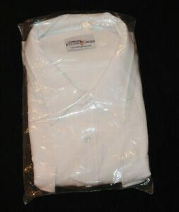 Flying Cross White Short Sleeve Shirt EMT Police Fire Fighter Size 20.0-20.5