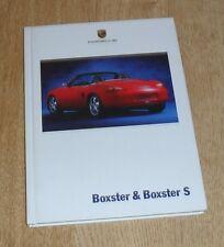 Porsche Boxster Hardback Brochure 986 2.7 & 3.2 S 1999