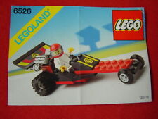 LEGO TOWN 6526 RED LINE RACER 100% COMPLETE VINTAGE SET 1989 (See my items)