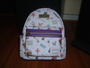 LOUNGEFLY HARRY POTTER WEASLEYS' WIZARD WHEEZES MINI BACKPACK~ WITH TAGS~ NEW~