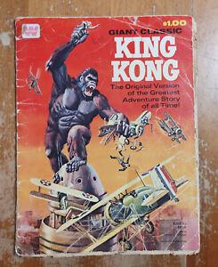 King Kong Giant Classic Whitman Treasury 1968 low grade