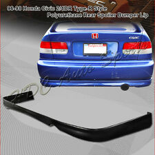 For 1996-1998 Honda Civic EK TR Style Polyurethane PU Rear Bumper Body Lip Kit