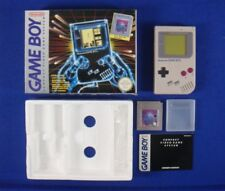 gameboy CONSOLE ORIGINAL SYSTEM + Tetris BOXED Nintendo Game boy PAL REGION FREE