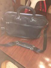 Tumi Arrive Narita Slim Black Briefcase Messenger Shoulder Bag 25611D One Owner