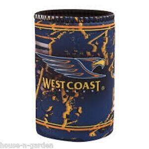 Official Licensed AFL West Coast Eagles Team Song Stubby Can Drink Cooler Holder