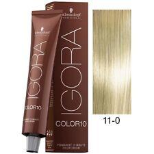 Schwarzkopf Igora Color10, 10 Min Hair Color Speedlift+Super Blonde 11-0, 2.1oz.