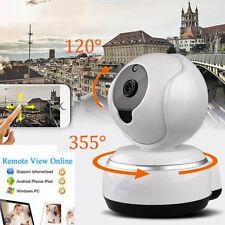 720P HD Wireless WIFI Pan Tilt Mini Security Network CCTV IP Camera Night Vision
