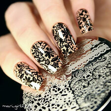 Nagel Schablone Nail Art Stamp Template Plates BORN PRETTY BP02