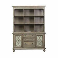 Liberty Furniture Simply Elegant Credenza And Hutch Set