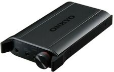 ONKYO Portable Headphone Amplifier High Resolution Black DAC-HA200 (B) New