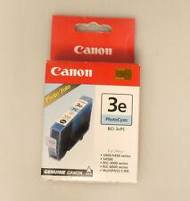(PRL) CANON 3e BCI-3ePC PHOTO CYAN CARTUCCE INCHIOSTRO ORIGINAL INK CARTRIDGE
