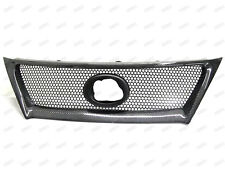 Carbon Fiber Front Mesh Grill Grille for 2011-2012 Lexus IS250 IS350 Type A