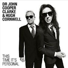 Dr John Cooper Clarke & Hugh Cornwell This Time It's Personal CD NEW SEALED 2016