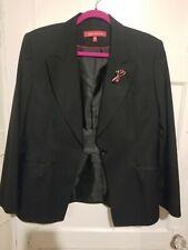 Black Anne Klien Jacker Size12