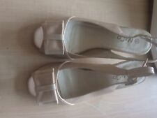 Ladies Slingback Shoes From M&Co Size 5