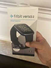 Fitbit Versa 2 Health & Fitness Smartwatch (FB507BKBK)
