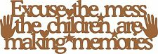 Wooden Unbranded Children Decorative Plaques & Signs