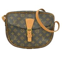 Louis Vuitton Jeune Fille MM M51226 Monogram Crossbody Shoulder Bag Pochette LV