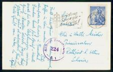 Mayfairstamps Austria 1953 Wien Censored 101 Costume Issue Postcard wwf97451