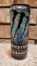 Monster Energy Drink Extra Strength Black Ice 12 oz Can - SKU 0113 - FULL CAN