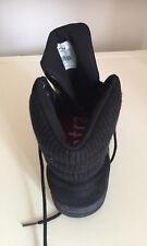 MEN Firetrap Ankle Black Leather  Boots Size 9.5