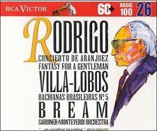 Rodrigo: Concierto de Aranjuez; Fantasy for a Gentleman / Villa-