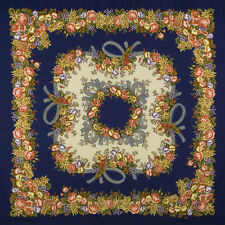 Shawls/Wraps Floral 100% Wool Scarves & Shawls for Women