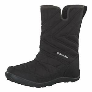 COLUMBIA MINX SLIP III Winter Woman's Youth Boots. Waterproof.UK Size 2. Black
